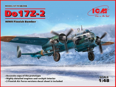 Do 17Z-2, WWII Finnish Bomber 057/48246