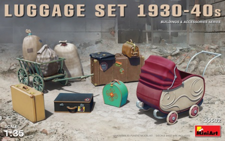 Luggage Set 1930-40s 089/35582