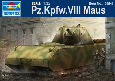 Pz.Kpfw.VIII Maus w/full interior kit 005/09541