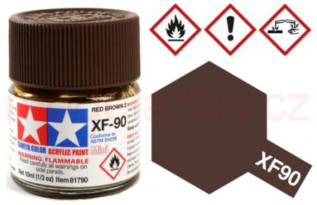 XF-90 Red Brown 2 10ml 001/81790