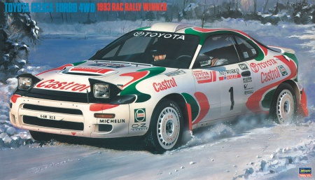 Toyota Celica Turbo 4WD 1993 RAC Rally Winner (Limited Edition) 007/20358