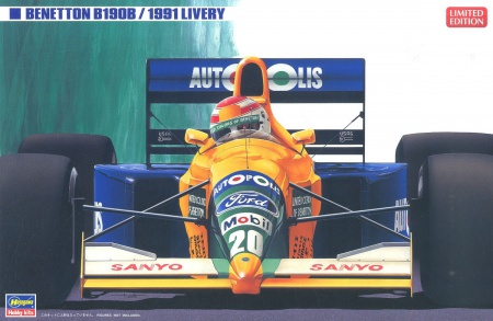 Benetton B190B 1991 Color (Limited Edition) 007/20356