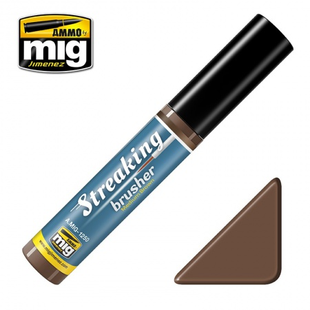 Streakingbrusher Medium Brown 10ml 085/A.MIG-1250