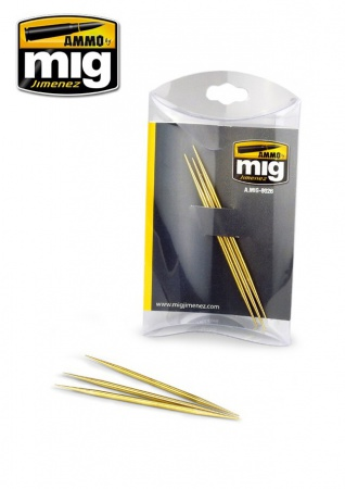 Brass Toothpick   high-quality machined brass 085/A.MIG-8026