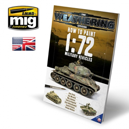 The Weathering Special - TWS - How To Paint 1:72 MILITARY VEHICLES 085/A.MIG-6019