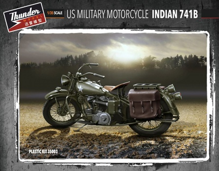 US Military Motorcycle Indian 741B (2 pcs) 104/TM35003