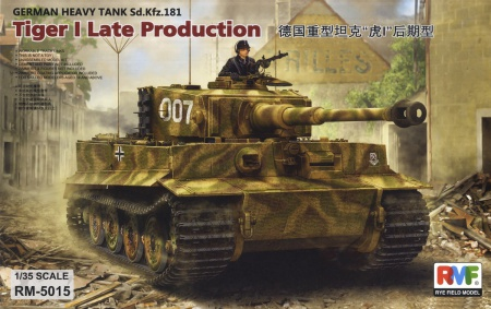 Tiger I Late Production Sd.Kfz. 181 Pz.kpfw.VI Ausf. E 099/RM-5015