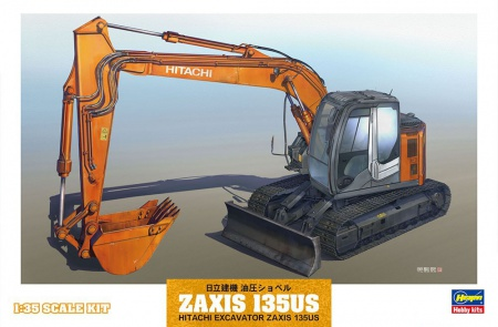 Hitachi Construction Machinery Hydraulic Excavator Zaxis 135US 007/WM01
