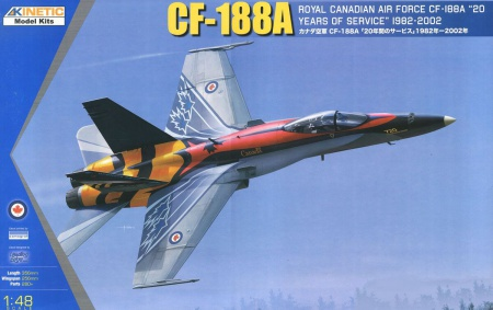 CF-188A 20 RCAF Years Services 106/K48079