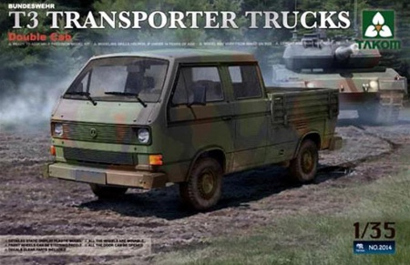 Bundeswehr T3 Transporter Truck Double Cab
