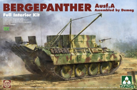 Bergepanther Ausf.A – Assembled by Demag 103/2101