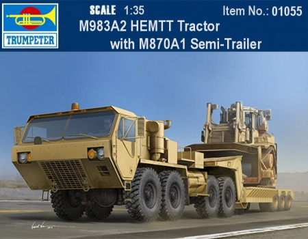 M983A2 HEMTT Tractor with M870A1 Semi-Trailer 005/01055