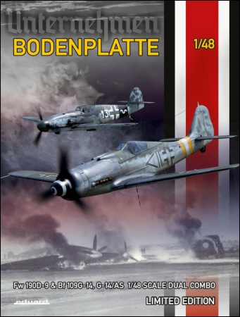 Bodenplatte -  Fw 190D-9 a Bf 109G-14(G-14/AS)  (Dual Combo - Limited Edition) 003/11125