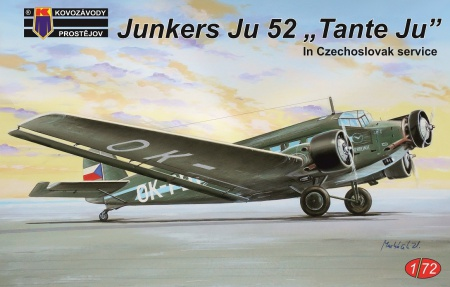 Ju-52 in Czechoslovak service (Limited Edition)