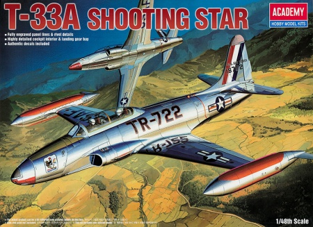 T-33A Lockheed Shooting Star (reedice) 002/12284