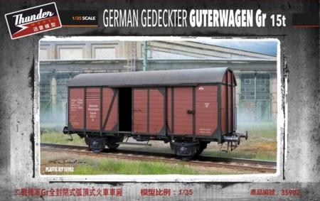 German Gedeckter Guterwagen Gr 15t