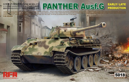 Panther Ausf.G Early/Late Production 099/RM-5018