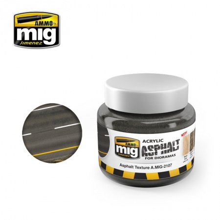 Asphalt Texture Ground 250ml 085/A.MIG-2107