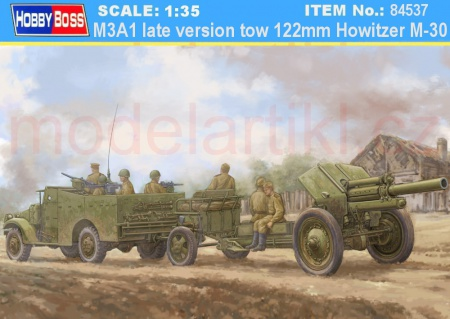 M3A1 late version tow 122mm Howitzer M-30 008/84537