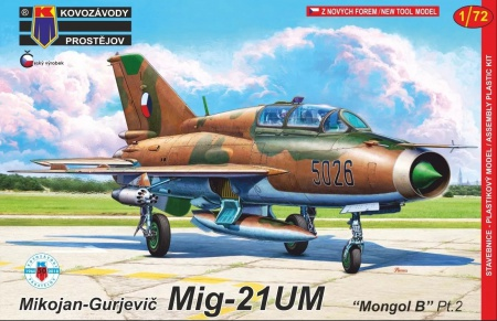 Mikojan-Gurjevič MiG-21UM Mongol B Pt.2