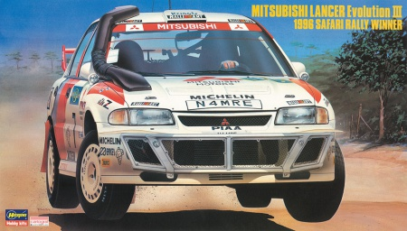 Mitsubishi Lancer EvolutionIII 1996 Safari Rally Winner (Limited Edition) 007/20365