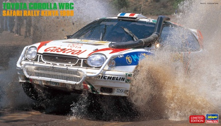 Toyota Corolla WRC Safari Rally Kenya 1998 (Limited Edition)
