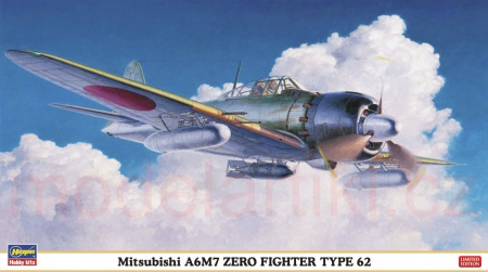 Mitsubishi A6M7 Zero Fighter Type 62 (Limited Edition) 007/09813