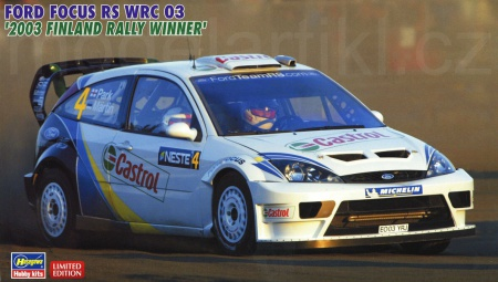 Ford Focus RS WRC 03 2003 Rally Finland Winner (Limited Edition) 007/20380
