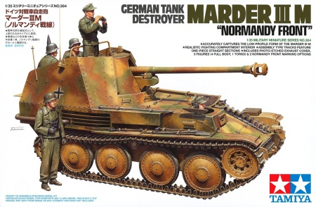 German Tank Destroyer Marder III M - Normandy Front 001/35364