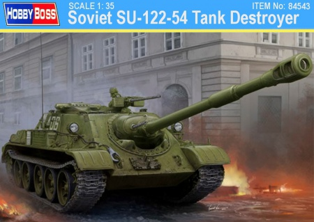 Soviet SU-122-54 Tank Destroyer 008/84543