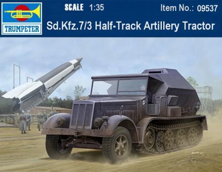 Sd.Kfz.7/3 Half-Track Artillery Tractor