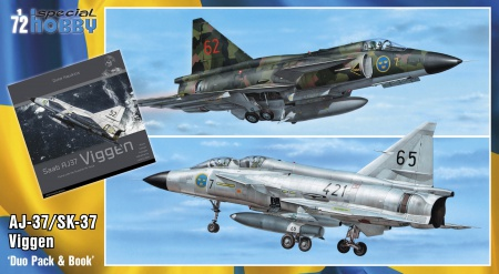 SAAB 37 Viggen Duo Pack & Book (Limited Edition) 012/SH72411