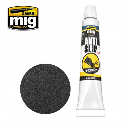 Anti-Slip Paste - Black Color for 1/72 & 1/48 20ml 085/A.MIG-2034