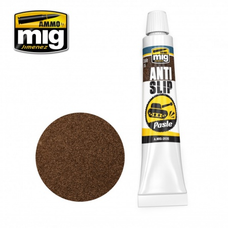 Anti-Slip Paste - Brown Color for 1/35 20ml 085/A.MIG-2035