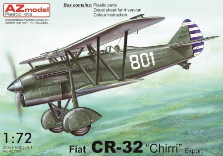 Fiat CR-32 Chirri Export