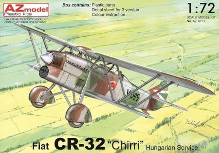 Fiat CR-32 Chirri Hungarian service