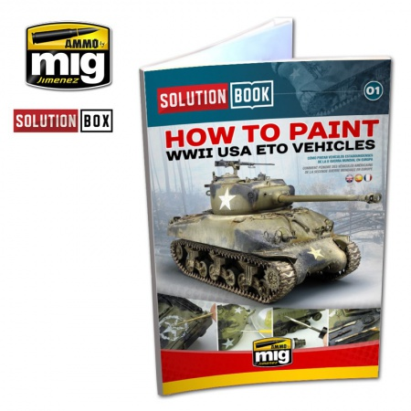 WW II American Eto Solution Book (Multilingual) 085/A.MIG-6500