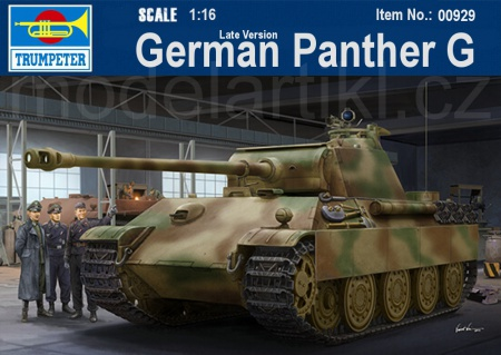 German Sd.Kfz.171 Panther Ausf.G - Late Version (w/ full interior kit) 005/00929