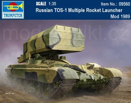Russian TOS-1 Multiple Rocket Launcher Mod 1989