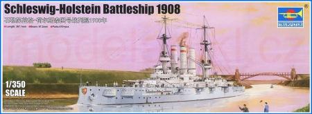 Holstein Battleship 1908