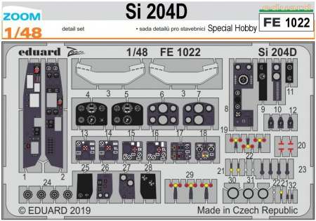 Si 204D (1:48 Special Hobby)