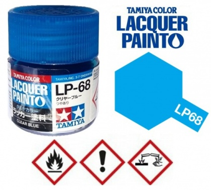 LP-68 Clear blue Tamiya Color Lacquer 10ml