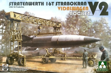 Stratenwerth 16t Strabokran 1944/45 Production / V-2 Rocket/ Vidalwagen