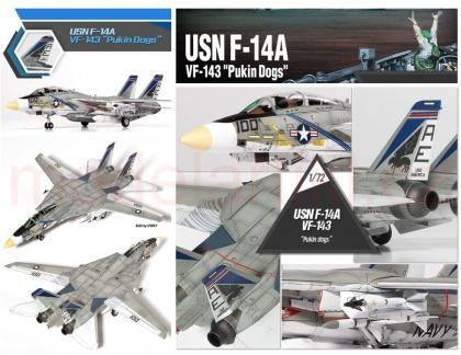 USN F-14A VF-143 Pukin Dogs