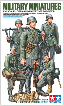 German Infantry Set (5 Crew)