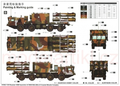 Soviet SSC-6/3K60 Val-E SSM