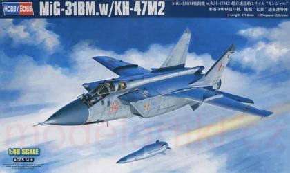MiG-31BM. w/KH-47M2