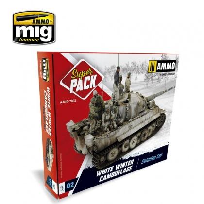 Super Pack White Winter Camouflage 3x10ml, 2x17ml, 2x30ml, 3x35ml