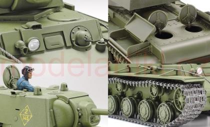 Russian Heavy Tank KV-1 Model 1941 (Early Production)