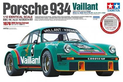Porsche 934 Vaillant 1976 (reedice + w/PHOTO-ETCHED PARTS)